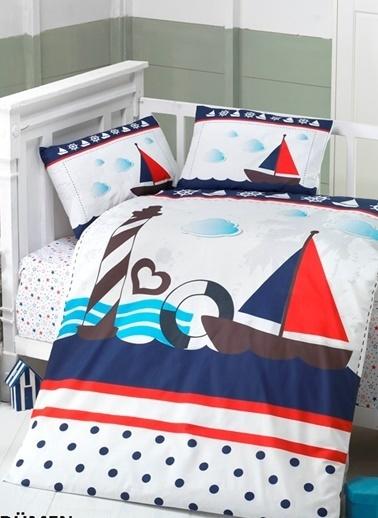 Komfort Home Bebek Nevresim Takımı %100 Pamuk (Berinay) Renkli